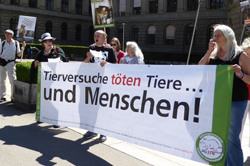 24. Juni 2015 - Demonstration vor der ETH in Zürich